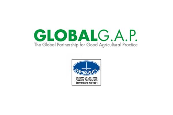 A.O.P. Csc Lazio - certificazione Global G.A.P.